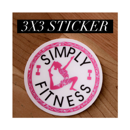 Simply Fitness Sticker