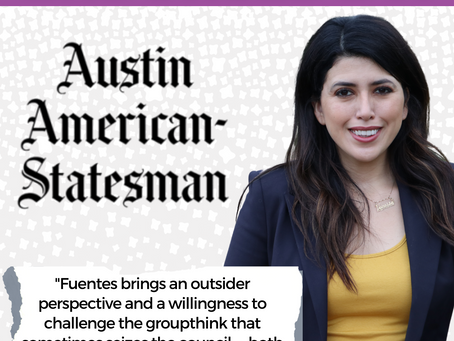 Endorsement: Fuentes leads our picks for Austin City Council