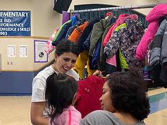 Vanessa Fuentes volunteering in Austin, Texas