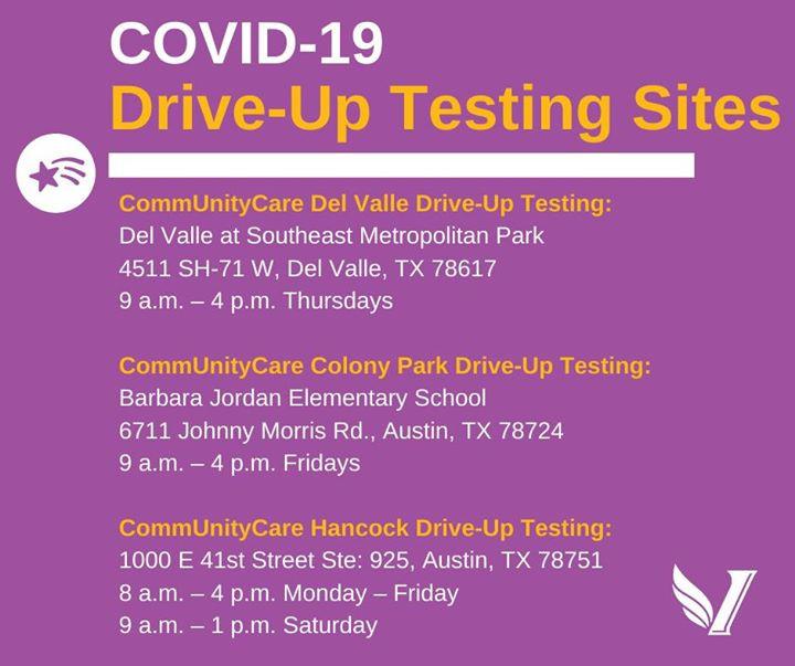 COVID19 TESTING SITES