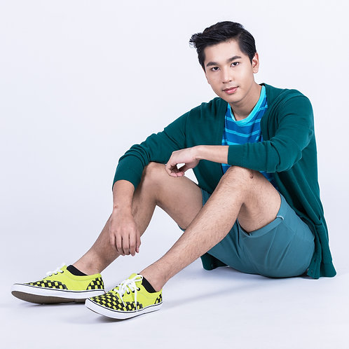 DEV : Authentic Classic Sneakers - Neon Check