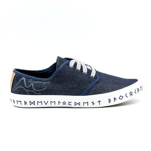VTEN : Sam-Roi-Yot The Classic Sneakers - Blue