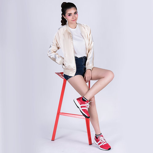 DEV : Long Beach Casual Sneakers - Red/White