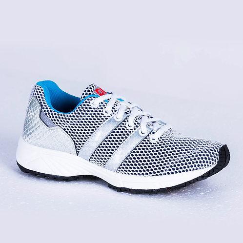 DEV : Long Beach Casual Sneakers - Grey/Blue