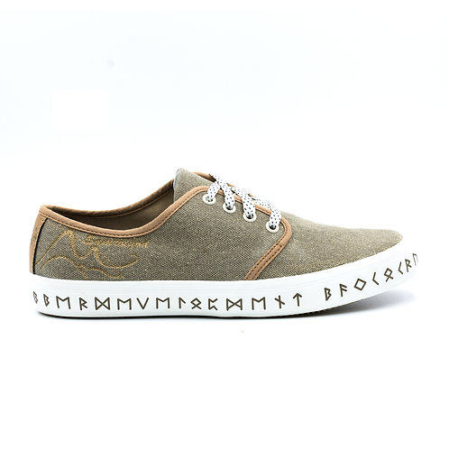 VTEN : Sam-Roi-Yot The Classic Sneakers - Natural Brown
