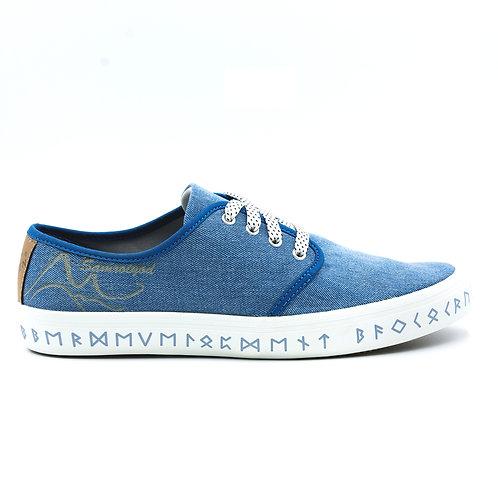 VTEN : Sam-Roi-Yot The Classic Sneakers - Light Blue