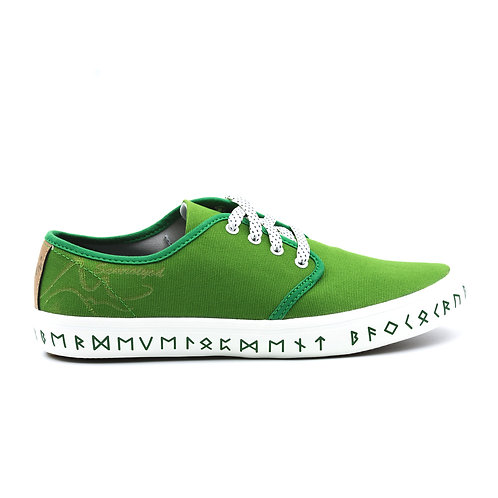 VTEN : Sam-Roi-Yot The Classic Sneakers - Green