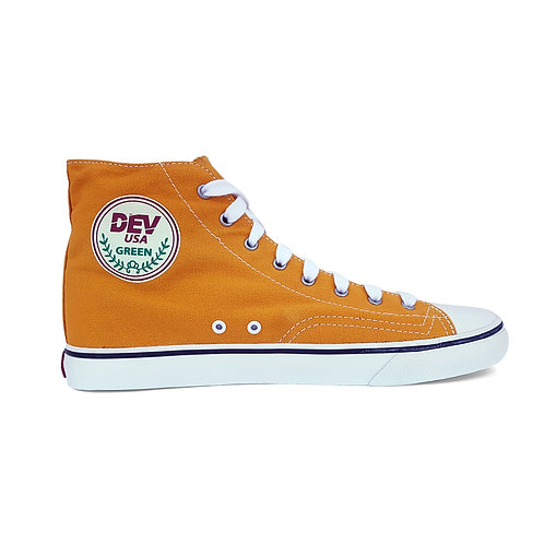DEV : Seattle High Top Sneakers - Yellow