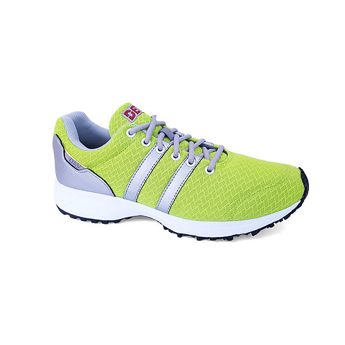 DEV : Long Beach Casual Sneakers - Neon/Silver