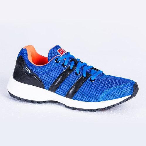 DEV : Long Beach Casual Sneakers - Blue/Black