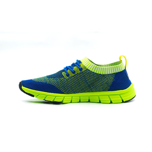 VTEN : V-Walk Trainers - Blue/Neon