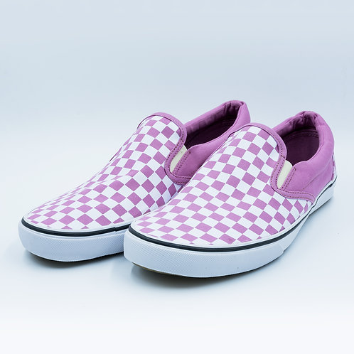 DEV : Classic Slip on - Pink Check