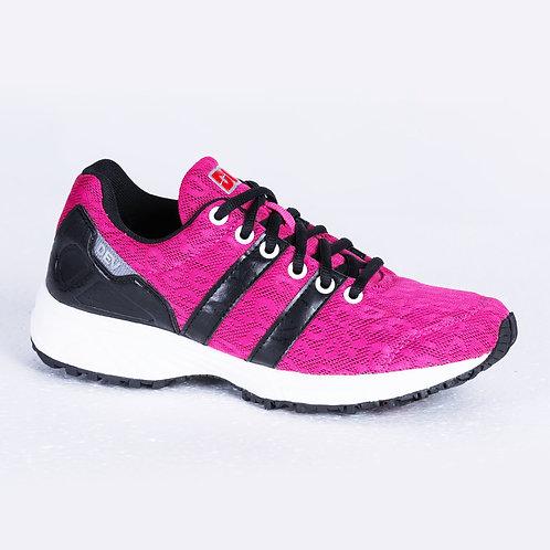 DEV : Long Beach Casual Sneakers - Pink/Black