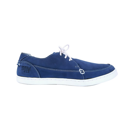 DEV : Justin Classic Slip on - Blue/white