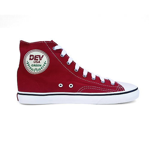 DEV : Seattle High Top Sneakers - Red