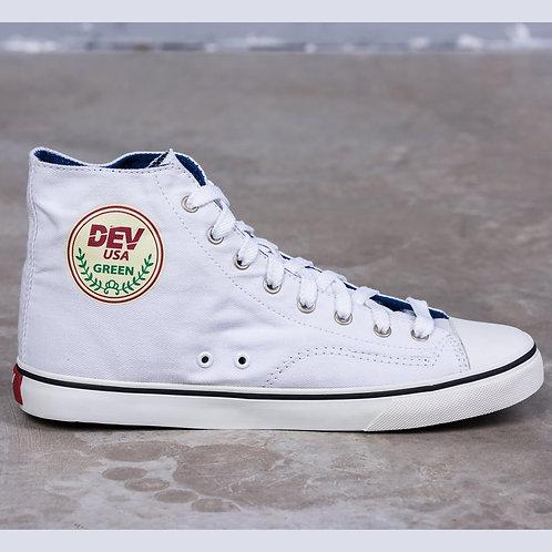 DEV : Seattle High Top Sneakers - White