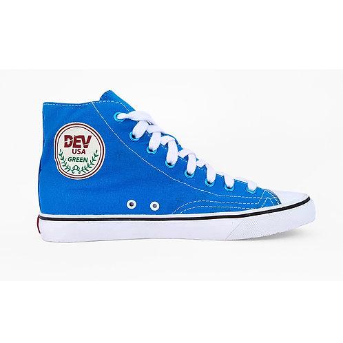 DEV : Seattle High Top Sneakers - Sky Blue