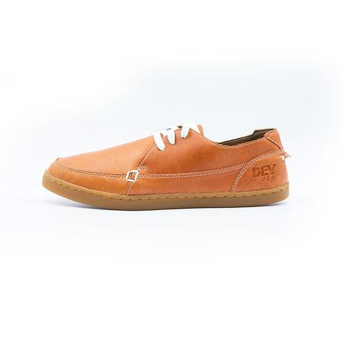DEV : Justin Classic Slip on - Oily brown blue/Beige