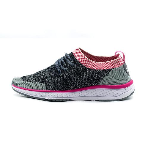 VTEN : V-Walk Trainers - Grey/Pink