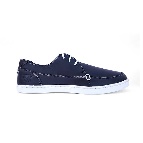 DEV : Justin Classic Slip on - Navy/white