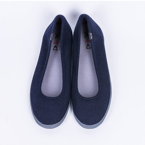 DEV : Bella, Casual ballerina flats - Midnight