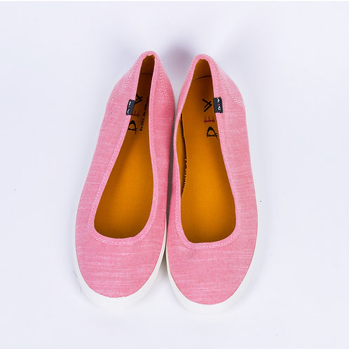 DEV : Bella, Casual ballerina flats - Pink