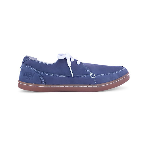 DEV : Justin Classic Slip on - Slate blue/Beige
