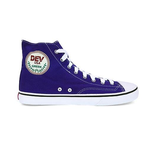DEV : Seattle High Top Sneakers - Purple