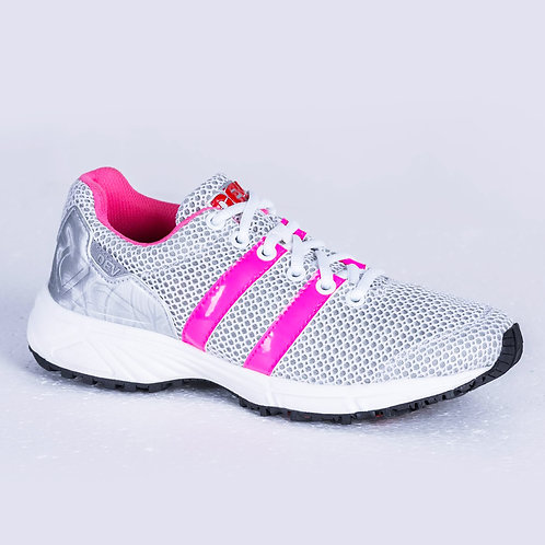 DEV : Long Beach Casual Sneakers - White/Pink