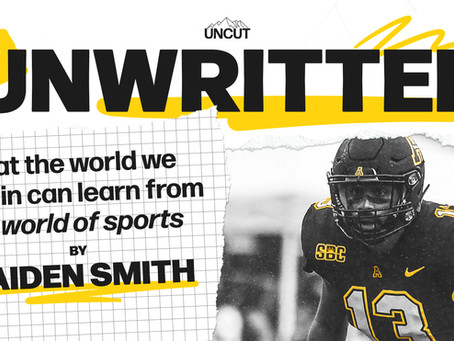 UNWRITTEN: WHAT THE WORLD WE LIVE IN CAN LEARN FROM THE WORLD OF SPORTS