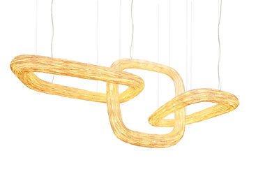 Continuity series of rattan lighting by Ango