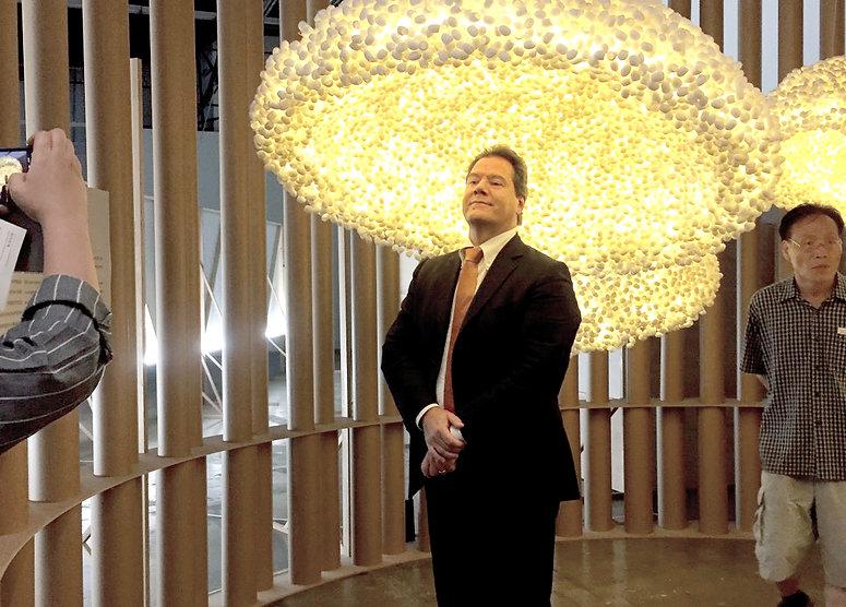 Light installation at Gwangju Biennale 2017