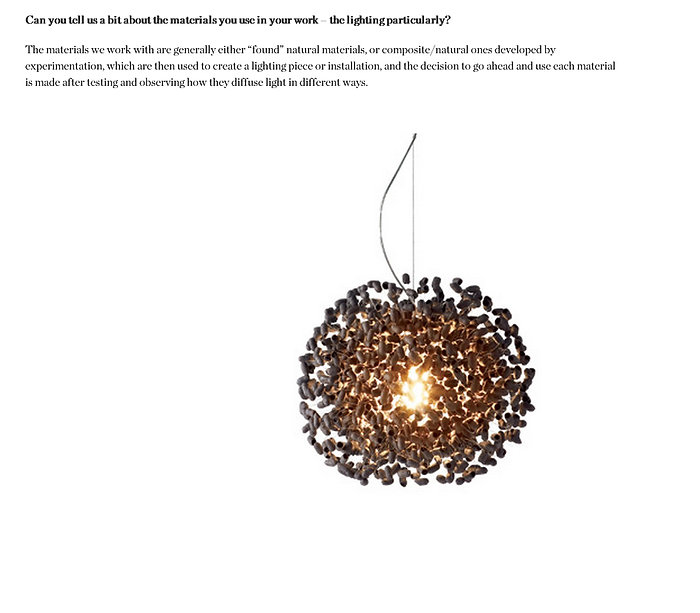 Handcrafted silk cocoon ceiling light