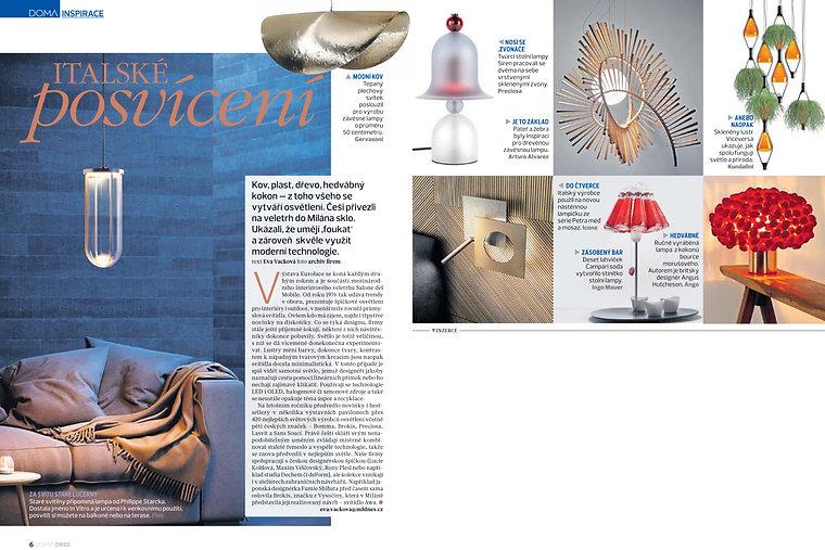 Ango in DOMA Magzine
