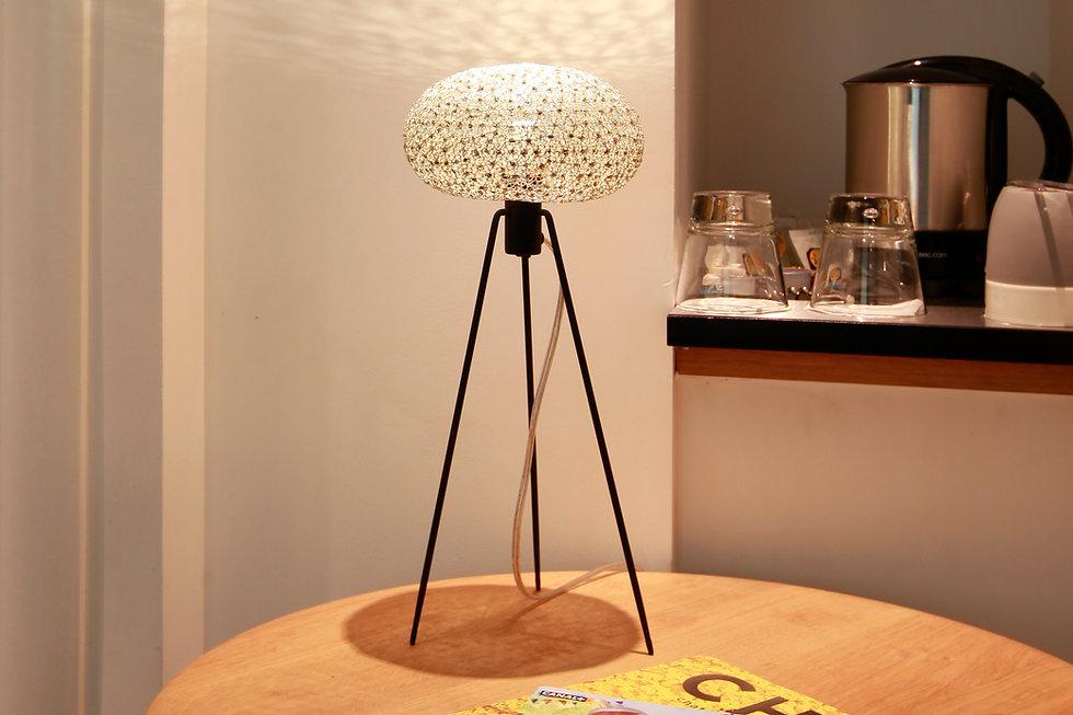 Unique handmade table light