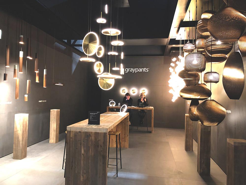 โคมไฟในงาน Euroluce 2019, Milan