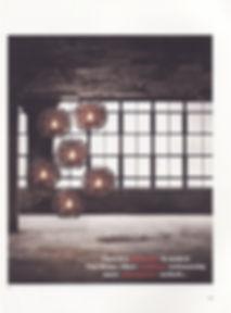 "Handcrafted lighting ""Full Moon"" in Habitus Magazine"