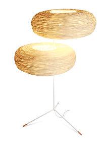 Rattan handcrafted floor light