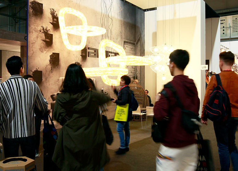 Ango light at Euroluce Milan 2019