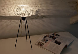 beautiful table lamps, handcrafted table lights