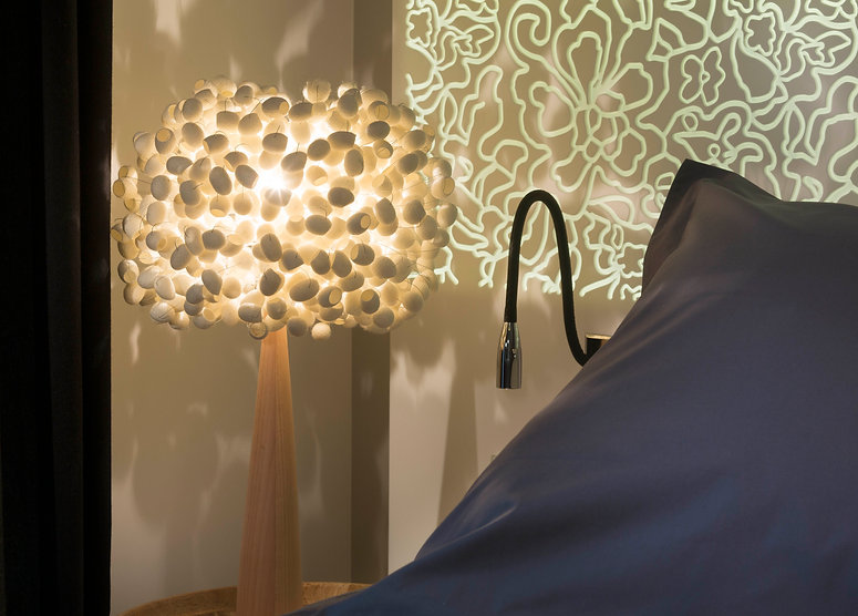silk cocoon tabe light