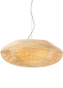 Unique rattan handcrafted lighting