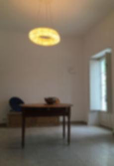 Unique Rattan ceiling light