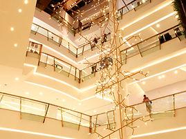 Light installation project at Emporim Bangkok created by Ango