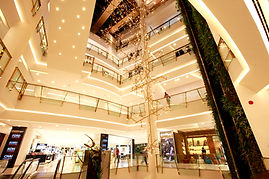 Main Hall lighting at Emporium Bangkok