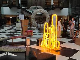 สถาปัตยกรรมโคมไฟ โดยแองโก ใน Bangkok Design Week