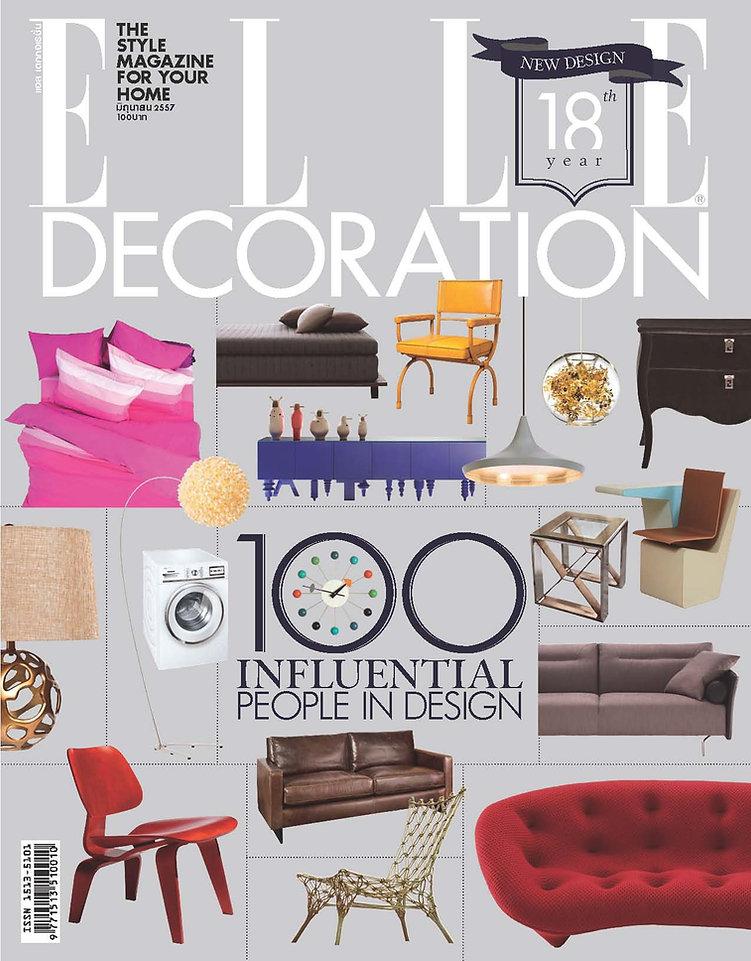 lighting design picked for ELLE Decration