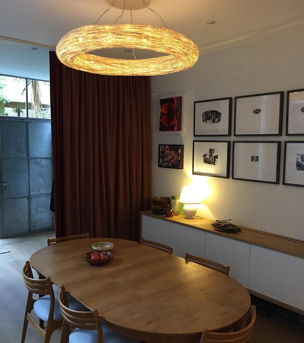 Rattan decorative lighting