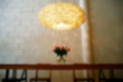 Paradise the handcrafted silk cocoon pendant in dining room