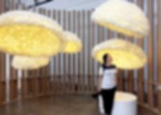 โคมไฟรังไหมของไทยดังในเกาหลี โชว์ในงานดีไซน์ Gwangju Design Biennale